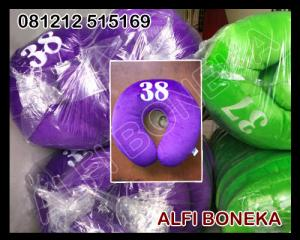 Souvenir Bantal Leher Bordiran 38