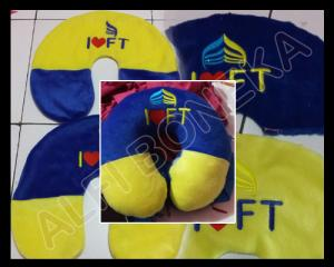 bantal leher fist travel new